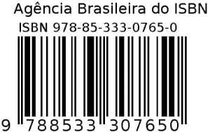 Tudo sobre ISBN: Exemplo de um código de barras criado a partir de um ISBN